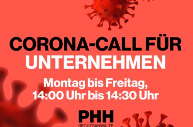 Corona Call für Unternehmen