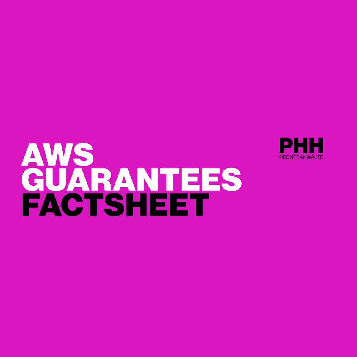 COVID-19: AWS Guarantees