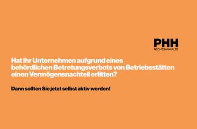 PHH Factsheet Corona Ersatz Epidemiegesetz Wien