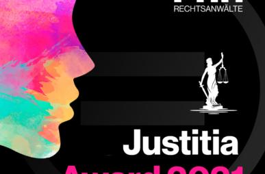 Nominierung Justitia Award 2021 offen
