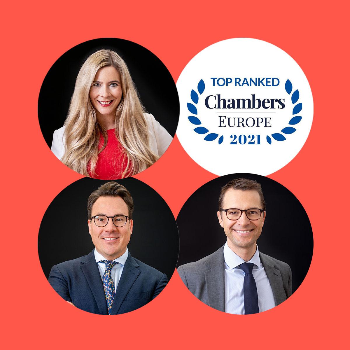 Chambers Europe 2021 Ranking