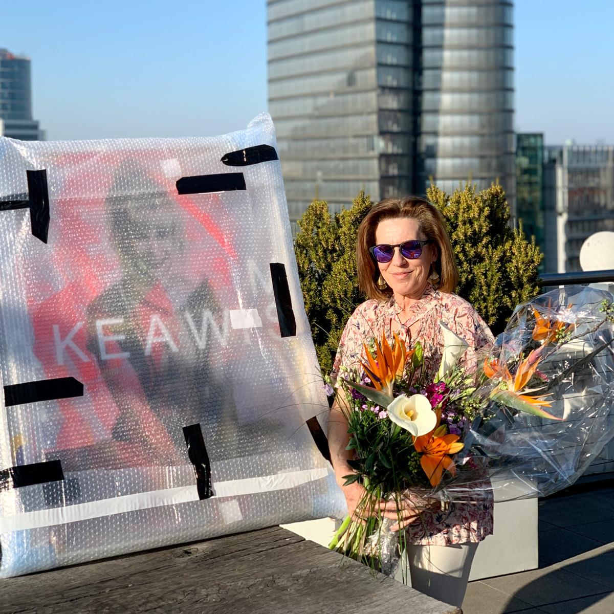 Partnerin Maria Hoffelner verabschiedet sich in die Pension