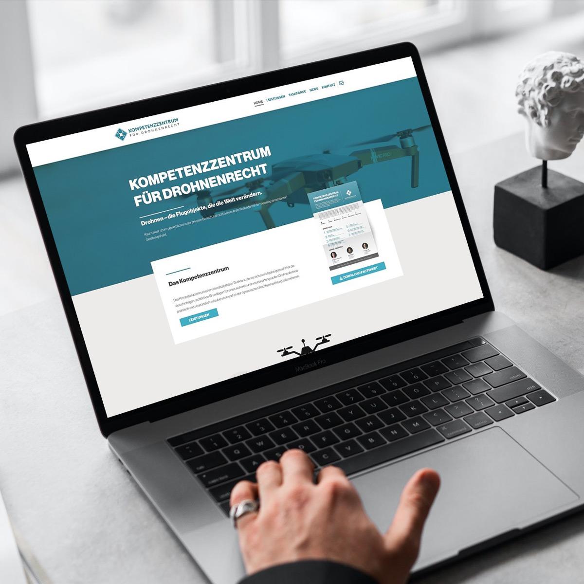 Launch Kompetenzzentrum für Drohnenrecht