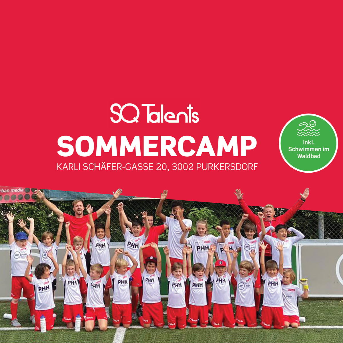 Sommercamp unseres Partners SQ Talents