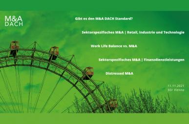 """Branchenkonferenz """"M&A DACH"""""""